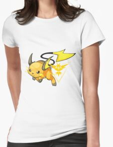 Raichu - Team Instinct Womens Fitted T-Shirt