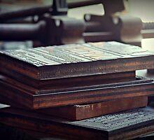 Printing Plates by Karen Tregoning