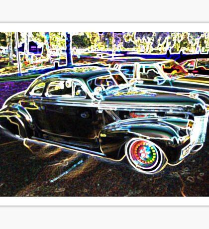 Disco Oldsmobile Sticker