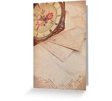 The passage of time. Greeting Card