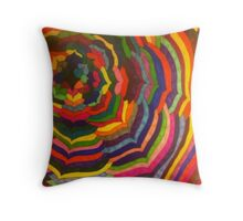 Life Blossoms in Color Throw Pillow