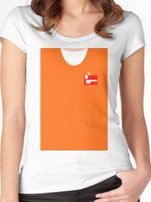Orange Is The New Black - Cartoon Uniform Women's Fitted Scoop T-Shirt