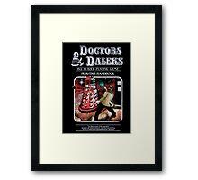 Doctors Daleks Framed Print