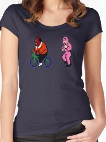 Run Lovers Women's Fitted Scoop T-Shirt