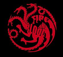 House Targaryen - Fire and Blood by AllisaB