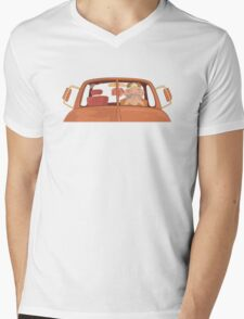 Truck Driver Mens V-Neck T-Shirt