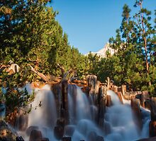 Waterfall at Grizzly River Rapids by GSDphotography