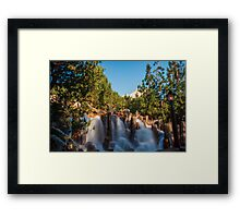 Waterfall at Grizzly River Rapids Framed Print