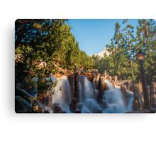 Waterfall at Grizzly River Rapids Metal Print