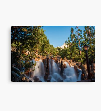 Waterfall at Grizzly River Rapids Canvas Print