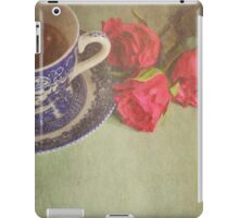 Tea and Roses.  iPad Case/Skin