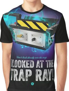 Ghostbusters - Trap - Cinema Obscura Collection Graphic T-Shirt