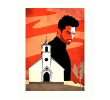 The Preacher Art Print