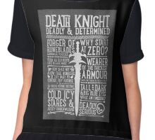 Death Knight Chiffon Top