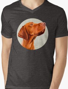Mr Vizsla Mens V-Neck T-Shirt