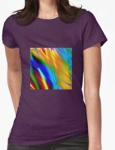 Vintage Geek Painting Womens Fitted T-Shirt