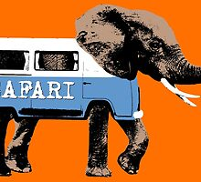 Elephant Safari by monsterplanet