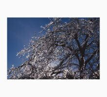Sparkling Icy Tree - Mother Nature's Decoration One Piece - Short Sleeve
