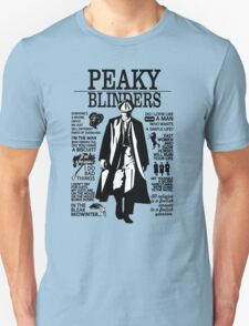 Peaky Blinders Quotes T-Shirt