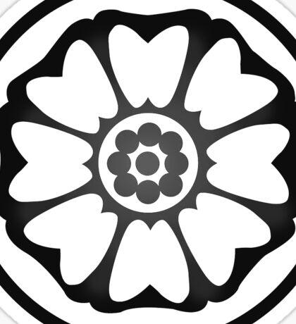 Avatar White Lotus Symbol Sticker