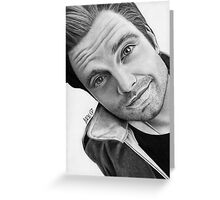 Sebastian Stan #4 Greeting Card