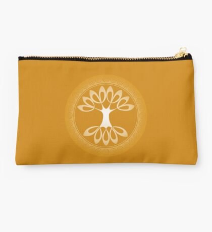 Tree of Life - sunshine gold Studio Pouch