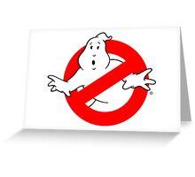 Ghostbuster Logo Greeting Card