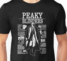 Peaky Blinders Quotes Unisex T-Shirt