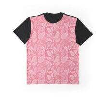 Pink Paisley Graphic T-Shirt