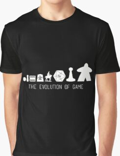 Evolution Of Game Graphic T-Shirt