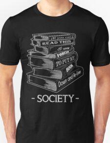READING BOOK  Unisex T-Shirt