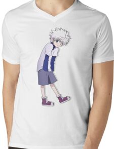 Killua Mens V-Neck T-Shirt