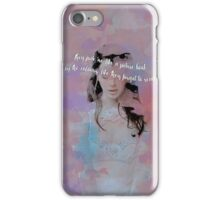 They Think I'm Too Dumb To See... iPhone Case/Skin