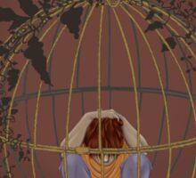 Caged Feelings Sticker