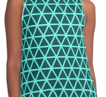 Triangles pattern Contrast Tank