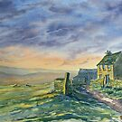 Evening on the High Fells by Glenn  Marshall