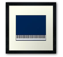 Musician Piano Keys Cell Phone Case Cover Framed Print