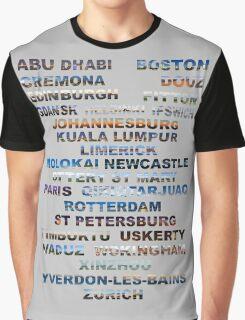 Abu Dhabi To Zurich  Graphic T-Shirt