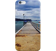 The Pier At Pittwater Palm Beach NSW iPhone Case/Skin