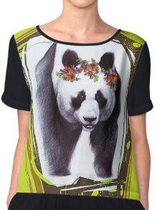 Giant panda Chiffon Top
