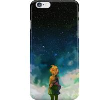 Beyond the boundary - Space iPhone Case/Skin