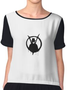 V for Vendetta - We Are Anonymous Chiffon Top