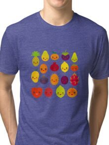 Happy Fruits Tri-blend T-Shirt