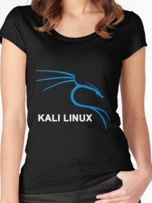 Kali Linux Stickers Women's Fitted Scoop T-Shirt