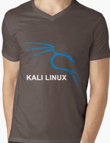 Kali Linux Stickers Mens V-Neck T-Shirt
