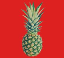 Pineapple One Piece - Long Sleeve