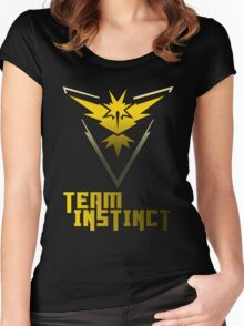 Team Instinct! - Pokemon Women's Fitted Scoop T-Shirt