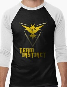 Team Instinct! - Pokemon Men's Baseball ¾ T-Shirt