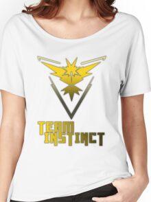 Team Instinct! - Pokemon Women's Relaxed Fit T-Shirt