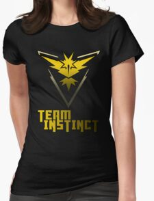 Team Instinct! - Pokemon Womens Fitted T-Shirt